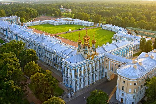 Aerial-view-catherine-palace-in-tsarskoye-selo