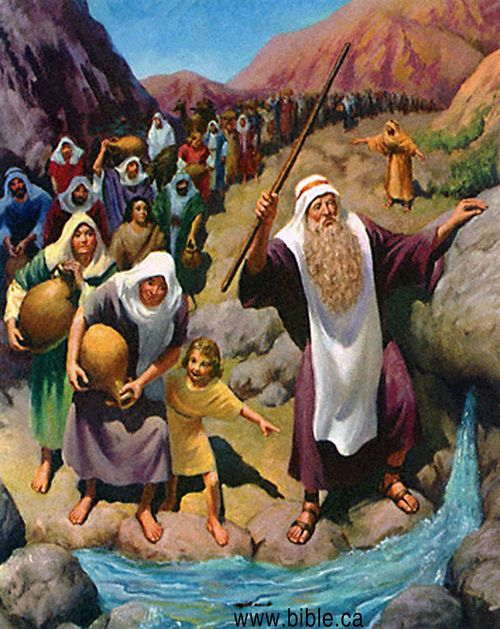 Bible-archeology-exodus-kadesh-barnea-water-from-rock-moses